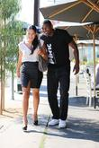Laker, Ron Artest, Kimsha Artest, Toast Bakery, West Hollywood, Pink Energy Drink T-shirt and Lamborghini