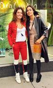 Tara Smith and Rosario Dawson