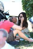 Roselyn Sanchez and her husband, Eric Winter, and...