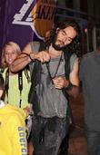 Russell Brand and Staples Center