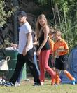 Ryan Phillippe, Deacon Phillippe and Paulina Slagter