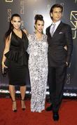 Kim Kardashian, Kourtney Kardashian and Scott Disickat the...