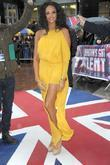 Alesha Dixon wears an Acne dress, worn by...