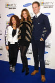 Alexis Jordan, Lisa Snowdon and Dan Walker
