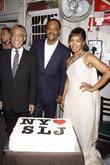 Al Sharpton, Angela Bassett and Samuel L Jackson