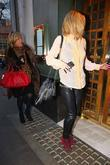 Sarah Harding goes for lunch at The Ivy...
