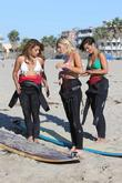 Vanessa White, Mollie King, Frankie Sandford, The Saturdays and Venice Beach