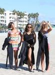 Frankie Sandford, Vanessa White, Mollie King, The Saturdays and Venice Beach