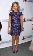 Hoda Kotb, Scandalous The Musical, Neil Simon Theatre and Arrivals. New York City