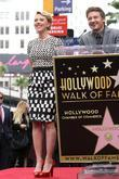 Jeremy Renner, Scarlett Johansson, Star On The Hollywood Walk Of Fame