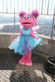 Abby Cadabby Sesame Street characters visit the top...