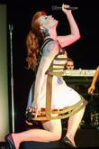 Ana Matronic,  of the Scissor Sisters performing...