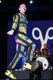Jake Shears,  of the Scissor Sisters performing...