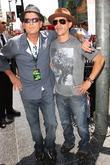 Charlie Sheen and Clifton Collins Jr.