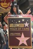 Slash and Star On The Hollywood Walk Of Fame