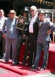 Robert Evans, Charlie Sheen, Jim Ladd and Slash