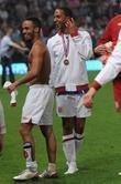 Aston Merrygold and Marvin Humes  Soccer Aid...