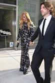 Rachel Zoe and Rodger Berman leaving the Trump...