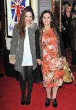 Arlene Phillips and guest Viva Forever VIP night...