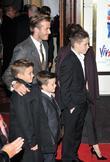 David Beckham, Brooklyn, Romeo and Cruz