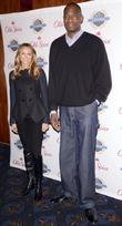 Stacy Keibler, Dikembe Mutombo, Dikembe Mutombo's, Weeks, Save The World Lauch, Event and New York City