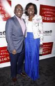Al Roker and Deborah Roberts  Broadway opening...