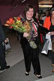 Susan Boyle, Los Angeles International Airport, British Airways Flight, London and Las Vegas