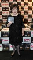 susan boyle promotes and signs copies of her new bo