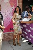 Taraji P. Henson leaves the Wendy Williams show...