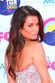 Lea Michele and Gibson Amphitheatre