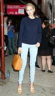 Leelee Sobieski leaving the 2012 Tribeca Film Festival...