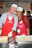Stephen Collins and Michaela Pereira
