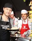 Chef Michael Voltaggio, Los Angeles Mayor Antonio and Villaraigosa