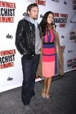 Josh Lucas and Jessica Ciencin Henriquez-Lucas at the...