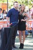 Steven Amell and Renee Bargh