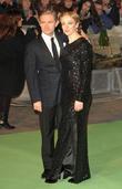 Amanda Abbington and Martin Freeman