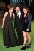 Andy Serkis, Lorraine Ashbourne and Ruby Serkis