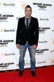 Mark Salling  The opening of Michael Jackson's...