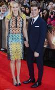 Taylor Schilling and Zak Efron at the premiere...