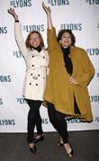 Julie White and Cady Huffman Broadway opening night...