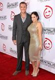 Owain Yeoman and Gigi Yallouz CBS celebrates 100...