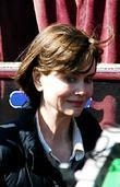 Nicole Kidman on film set of 'The Railway...
