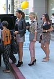 Frankie Sandford, Rochelle Humes and Mollie King