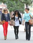 Rochelle Wiseman, Mollie King and Vanessa White