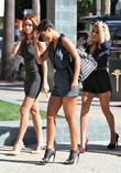 Frankie Sandford, Mollie King and Una Healy