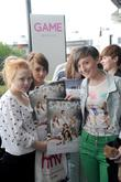 Fans, The Saturdays and Birmingham's Fort Dunlop