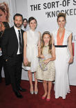 Judd Apatow, Maude Apatow, Iris Apatow, Leslie Mann and Grauman's Chinese Theatre
