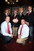 Martin Bayfield, Lewis Moody, Warren Gatland, Andy Irvine and Phill Vickery