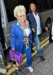 Barbara Windsor and husband Scott Mitchell Celebrities outside...