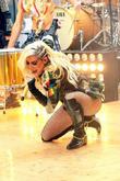 9;Ke$ha aka Kesha performing live on NBC's Toyota...